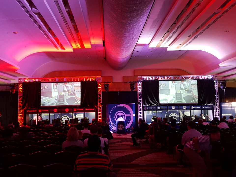 The $50,000 UMGDC Call of Duty Tournament: Awesome.